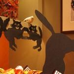 Гирлянд от черна котка за Хелуин