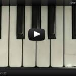 Свирете на пиано в YouTube