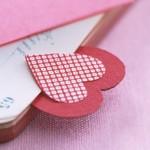 Разделител за книга за свети Валентин