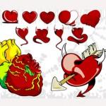 Векторни сърца