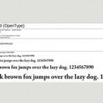 Типография и шрифт