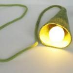 Лампа с прежда