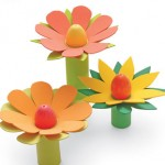 Великденски цветя с яйца