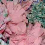 Пролетен гирлянд от текстил