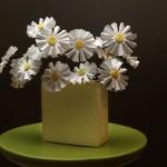 Хартиени цветя – маргаритки