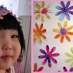 Хартиено венче за деца