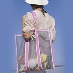 Плажна чанта от мрежа