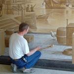 Невероятни рисунки върху стени