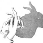 Как да направим силуети с ръце и свещ