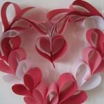 Хартиен венец за Свети Валентин