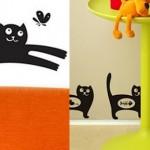 Стикери за стена с котка
