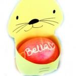 Зайче кошничка за великденско яйце