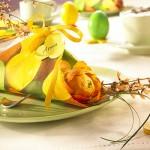 Великденска декорация за маса – част 1