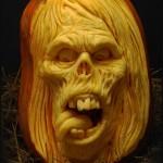 Ужасяващи скулптури за Хелуин