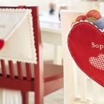 Калъф за стол за свети Валентин