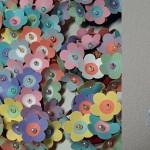 Храст от хартиени цветя