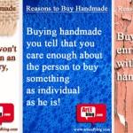 Причини да купувате ХЕНДМЕЙД