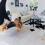 Висящи люлки у дома