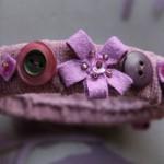 Еко гривна в лилаво