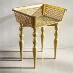 Стол от кошница за пазар на Сара Йен