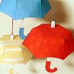 Хартиена декорация – чадър