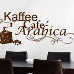 Стикери за стена за любителите на кафето – част 1