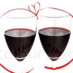 Романтична декорация за напитки
