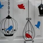 Идеи за украса на детска стая с птици – част 1