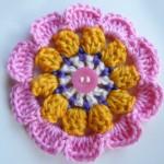 Баварско плетено цвете