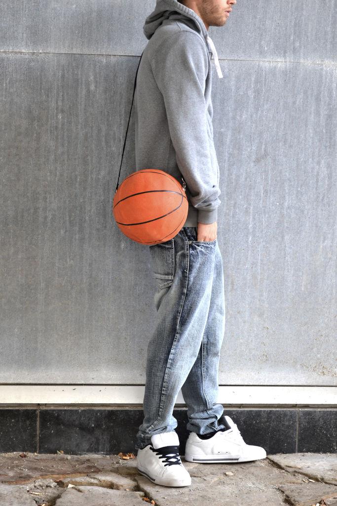 Чанта от баскетболна топка
