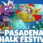 Фестивал на уличните рисунки в Пасадена