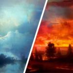 Приказни пейзажи от Kim Keever
