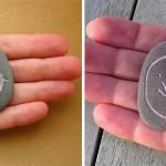 Миниатюрни гравюри върху камъни