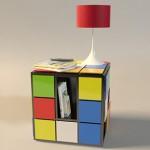 Кубът на Рубик като маса от Fabio Teixeira