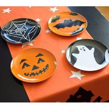 Halloween plates 4