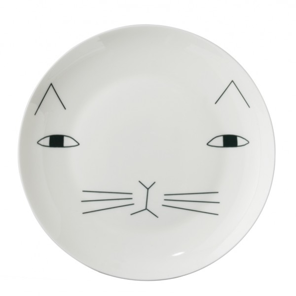 cat in a plate 5