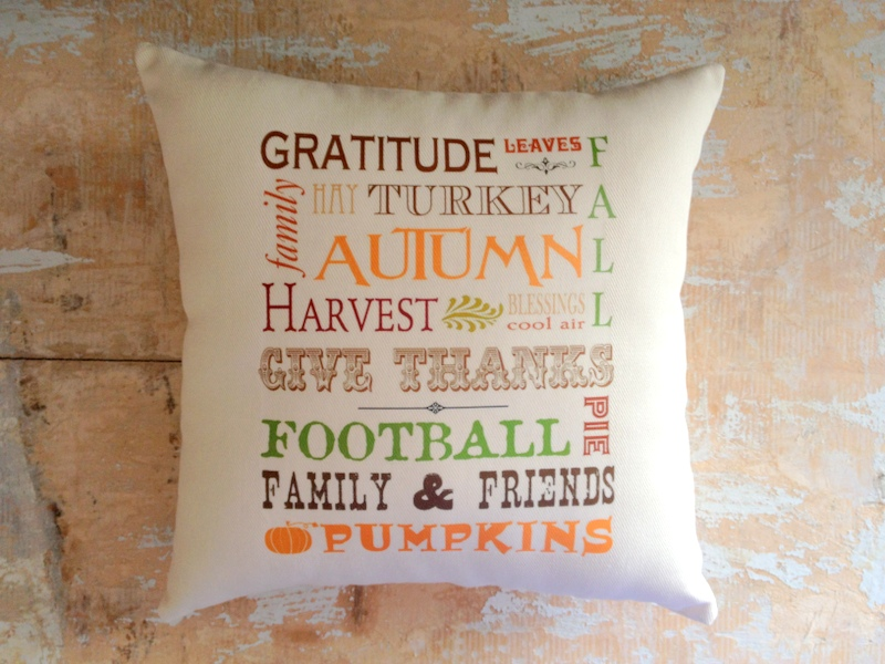 Fall Pillow 12