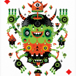 Изкуство върху карти за игра – част 1