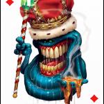 Изкуство върху карти за игра – част 2