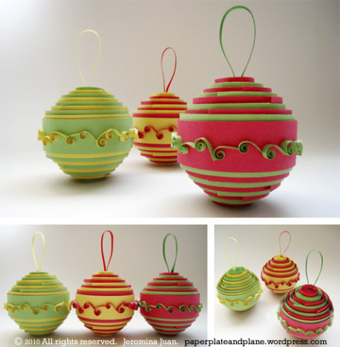 rolled paper ornaments 1