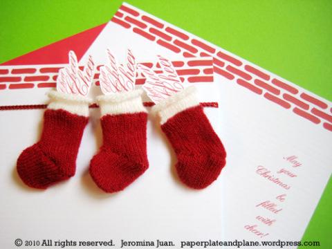 christmas stocking cards 1