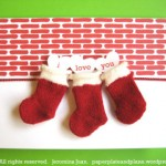 christmas stocking cards 2