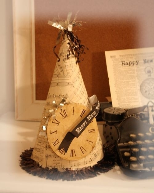 new years eve paper hat 4
