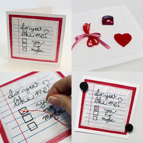 DIY Valentine card 4