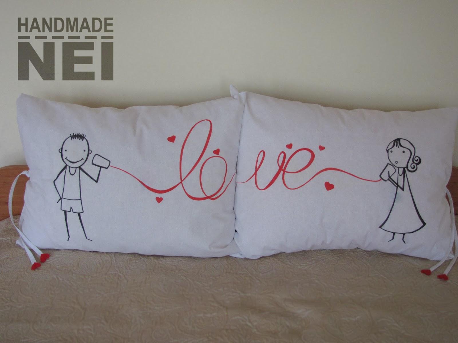pillow case call love 1