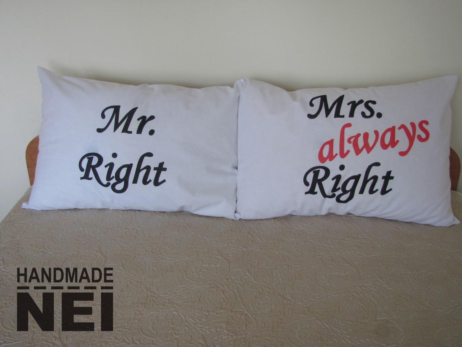 pillow case mr_mrs 1