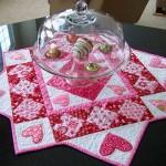 Покривки за маса за Свети Валентин