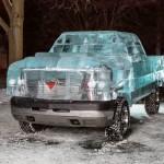 Кола от лед
