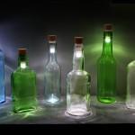 Превърнете всяка стъклена бутилка в лампа