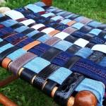 10 Стола от стари колани